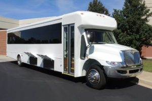 Mid-Size Coach Executive shuttle bus rental company