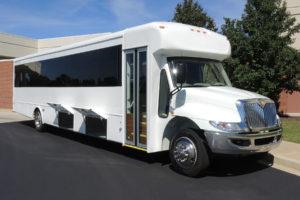 Mid-Size Coach Executive shuttle bus rental company